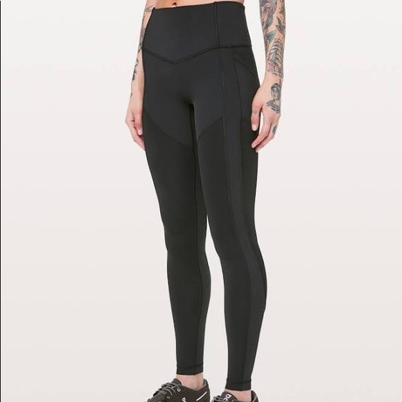 4b187f83a1 lululemon athletica Pants | All The Right Places Pant 28 Black Size ...